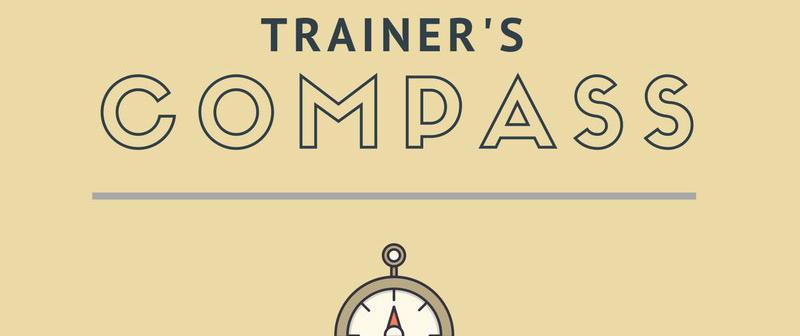Trainers' Compass – an amazing tool to navigate self-development as a trainer