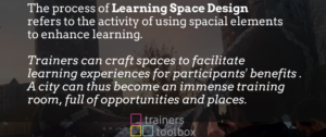 Learning Space Design poster by Trainers Toolbox