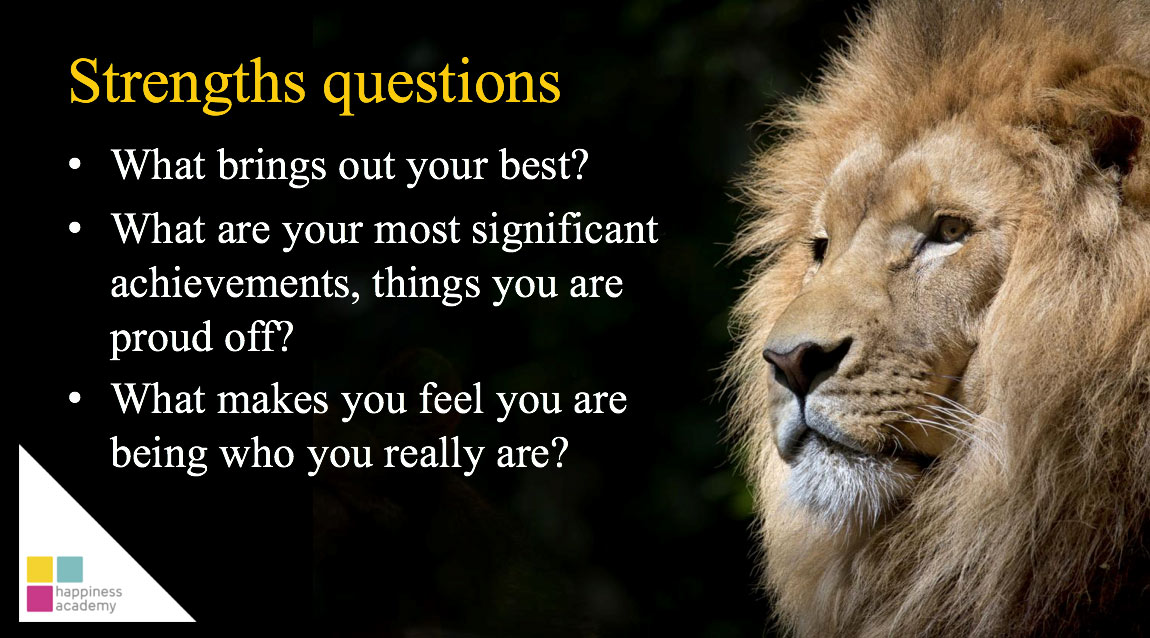 Strengths questions